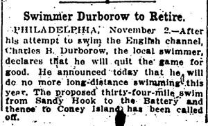 Durborow to retire, November 2, 1912, Evening Star, p10