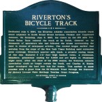 rivertons bike track sign