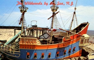 Wildwoods - Pirate Ship, Hunt's Pier