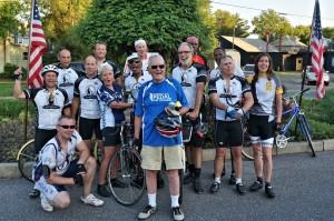 Historic Riverton Century riders 2014