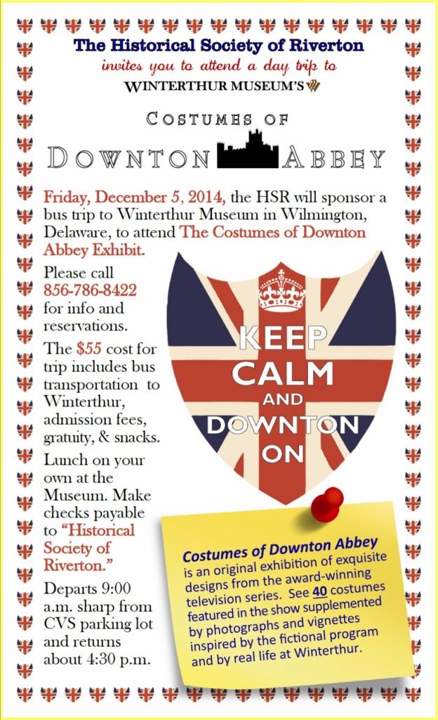 Downton Costume Winterthur publicity