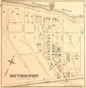 Riverton, NJ map 1877