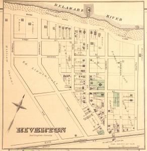 Riverton, NJ map 1877
