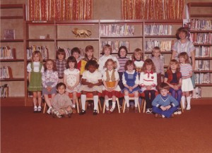 My Riverton School Kindergarten Class, Spring 1979