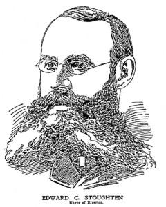 Riverton Mayor Edward Stoughton, Philadelphia Inquirer, January 2, 1898, p.35