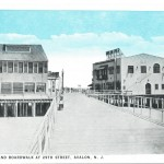Avalon Pier, Avalon, N.J. - Postmarked AUG 5, 1930
