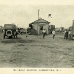 Railroad Station, Landisville, N.J.