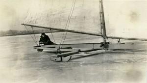 H. McIlvain Biddle's iceboat