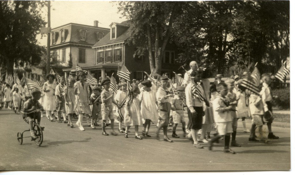 undated photo, presumably July 4th
