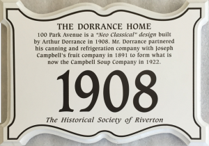 Dorrance 100 Park Ave plaque (Copy)