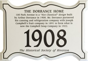 Dorrance_house_plaque