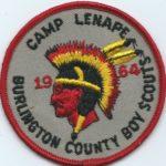 Fig. 1 1964 Camp Lenape patch