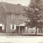 Friends' Meeting House, Built 1814, Medford, NJ, postmarked 1906