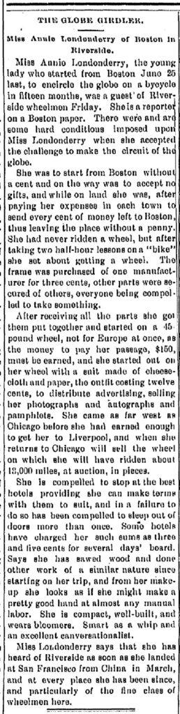 Press and Horticulturist, June 8, 1895, p.1