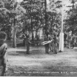 Salute to Old Glory, Camp Lenape, postmark 1954